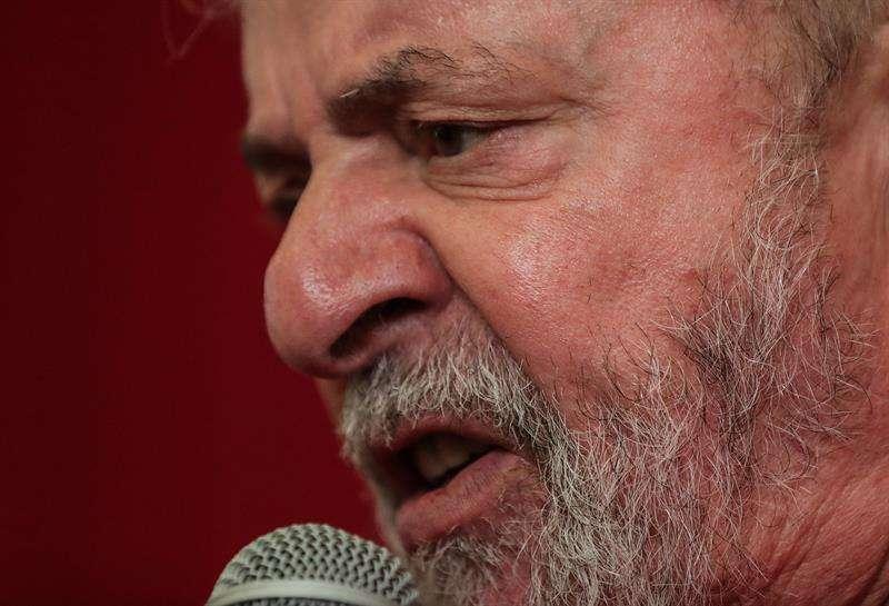 En la imagen, el expresidente brasileño Luiz Inácio Lula da Silva. EFE Archivo