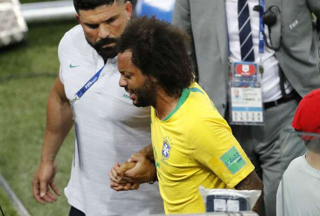 El jugador brasileño Marcelo. Foto: AP