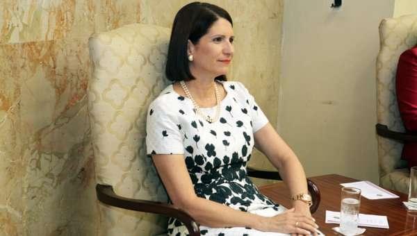 En la imagen de archivo la exprimera dama Marta Linares de Martinelli.
