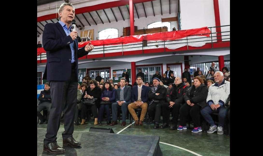 """Macri dijo que es necesario que la Justicia demuestre que """"no hay impunidad"""" y revele si es cierta la causa de corrupción en la que se investiga si empresarios y exfuncionarios conformaron una red de sobornos durante el kirchnerismo. EFE"""
