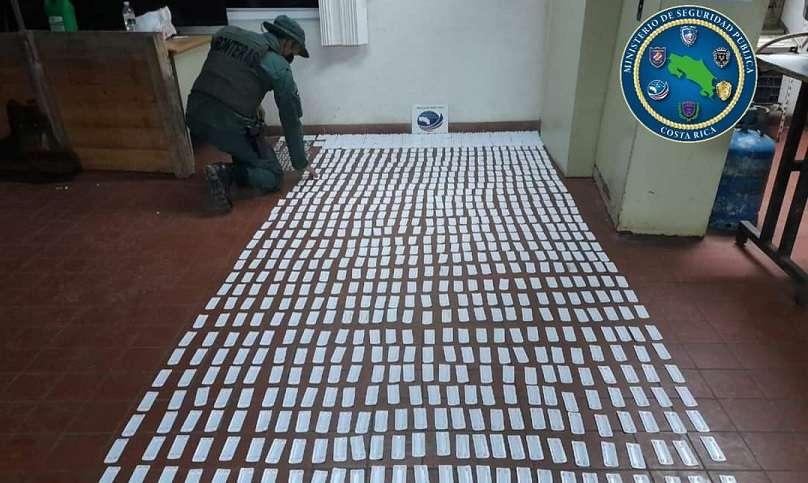 Es la primera incautación de fármacos del 2021 que realiza la Policía de Frontera.