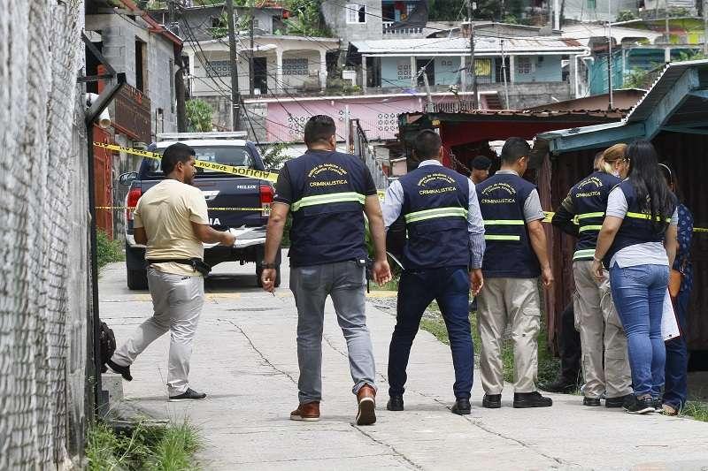 Escena de la balacera en Santa Marta. Foto/ Edwards Santos