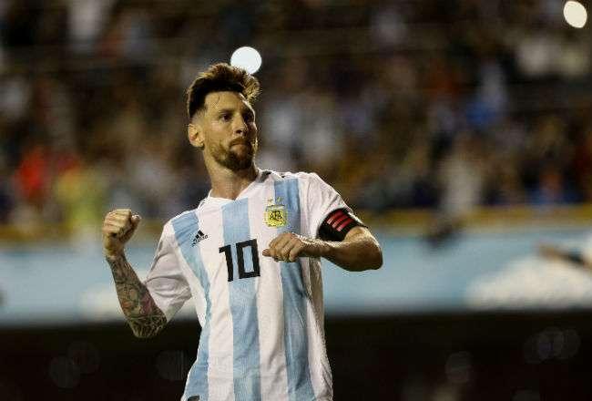 Lionel Messi fue el líder del conjunto argentino que brilló en la Bombonera.
