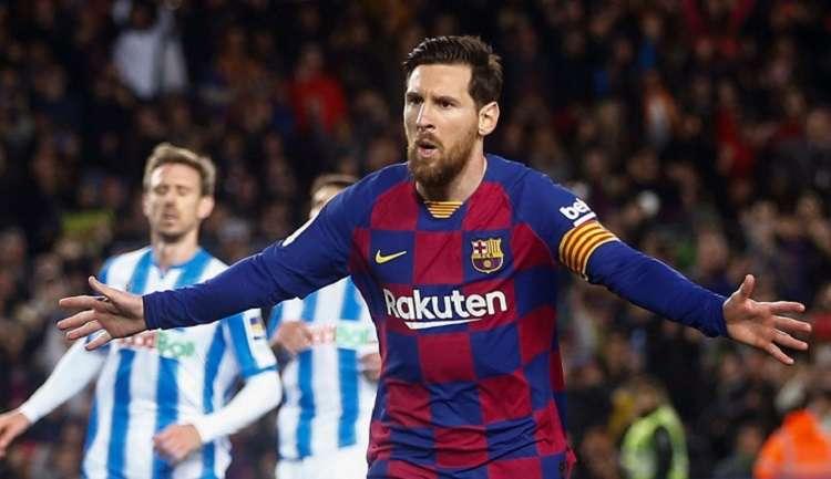 El delantero argentino Lionel Messi del Barcelona. Foto: EFE