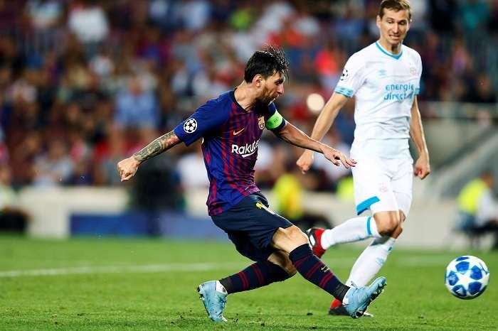 Lionel Messi, capitán del FC Barcelona. /EFE