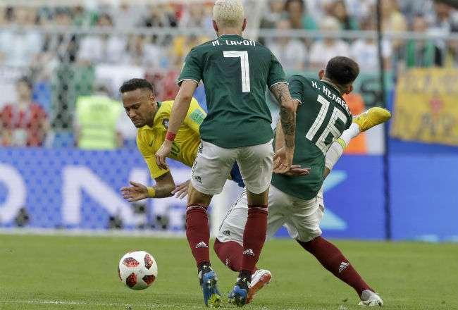 La selección de México quedó eliminado en los octavos de final. EFE