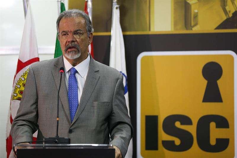 En la imagen, el ministro de Seguridad Pública de Brasil, Raúl Jungmann. EFEArchivo
