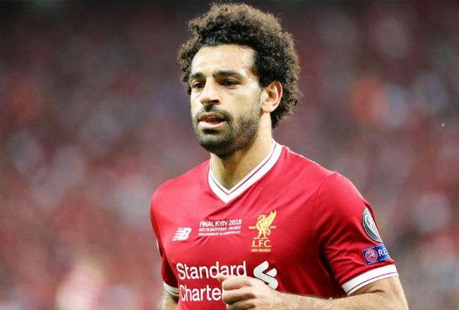 El jugador de Egipto Mohamed Salah. Foto: EFE