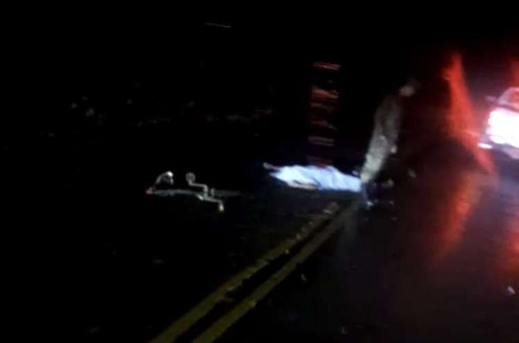 Vista de la escena del suceso. Foto: @pbatista92