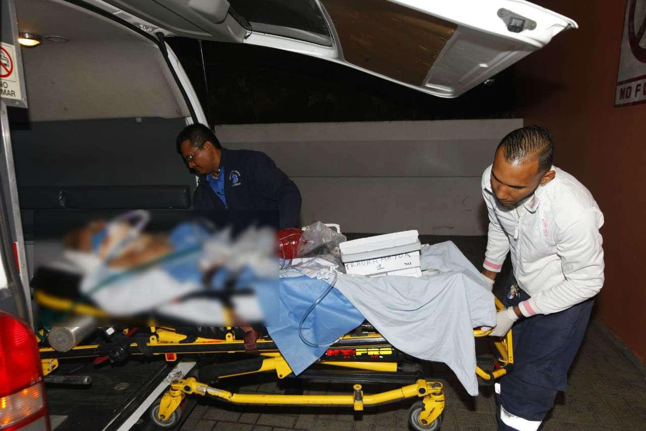 La víctima permanece recluida en el Hospital Santo Tomás. Foto: Alexander Santamaría
