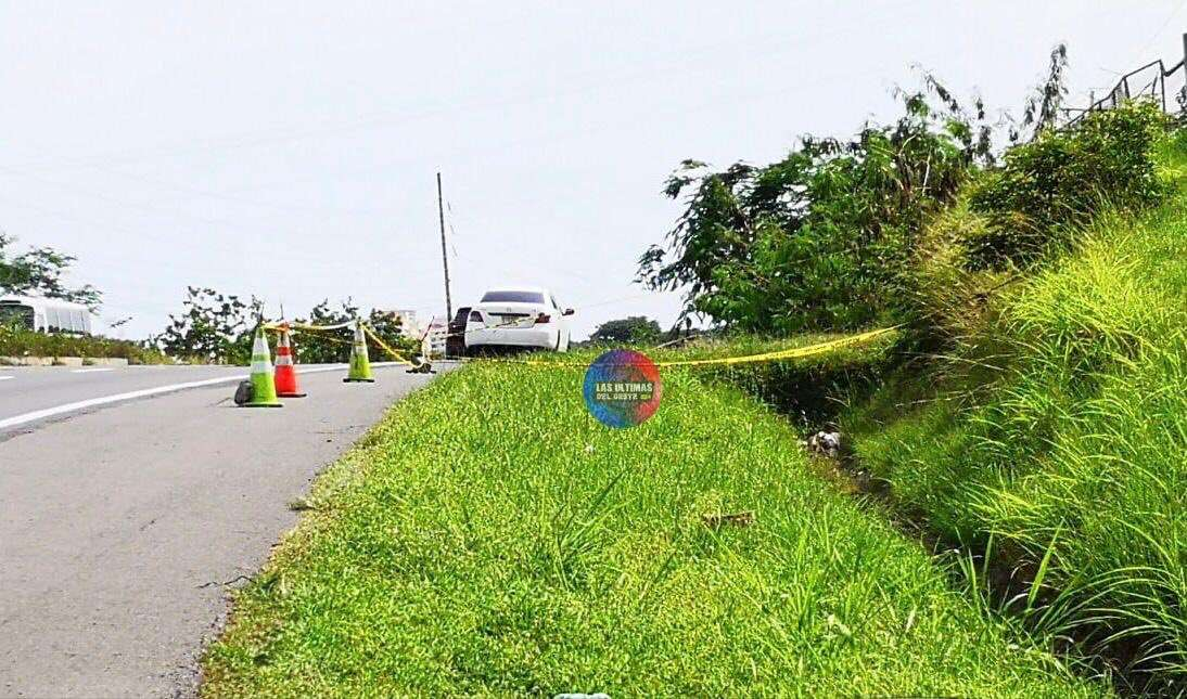 Vista general del área en donde fue ubicado el cadáver en San Carlos.  Foto: Las Últimas del Oeste