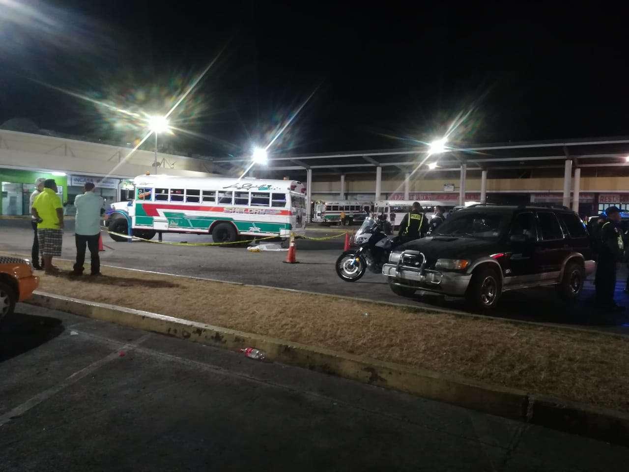 Vista del lugar del accidente. Foto: Jorge Luis Barría