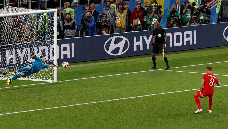 El Mundial se ha convertido el que más tandas de penaltis ha ofrecido en los octavos de final. Foto EFE