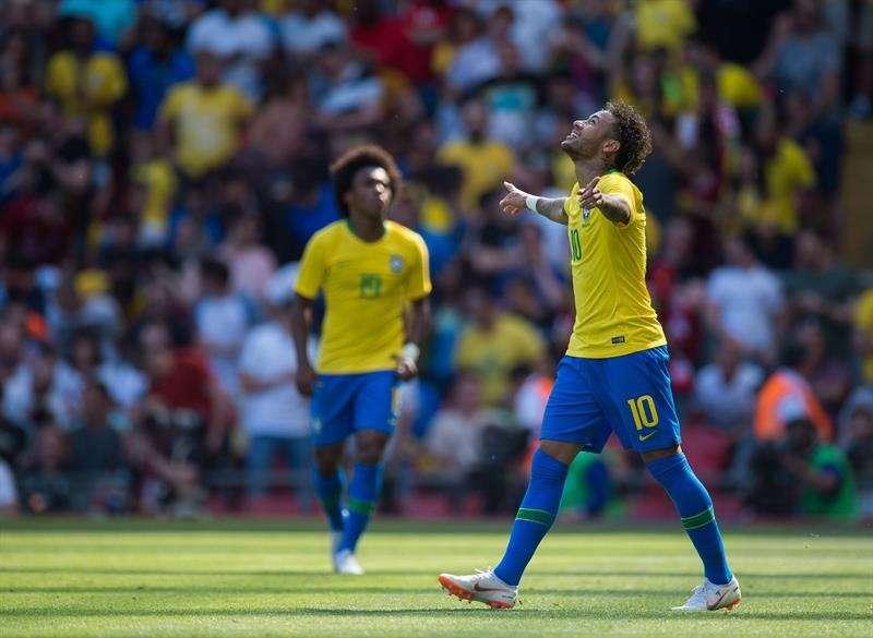 Neymar Jr, estrella de Brasil /