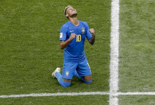 El jugador estrella de la selección de Brasil.  Foto: EFE