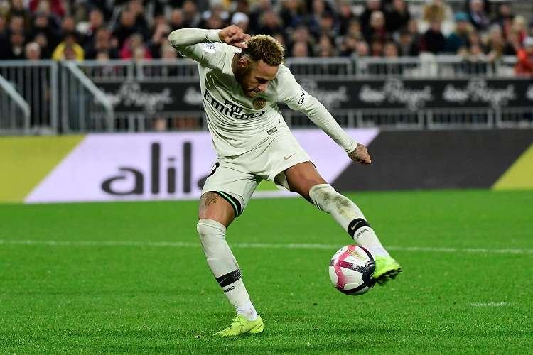 Neymar Jr., jugador del París Saint Germain. Foto:EFE