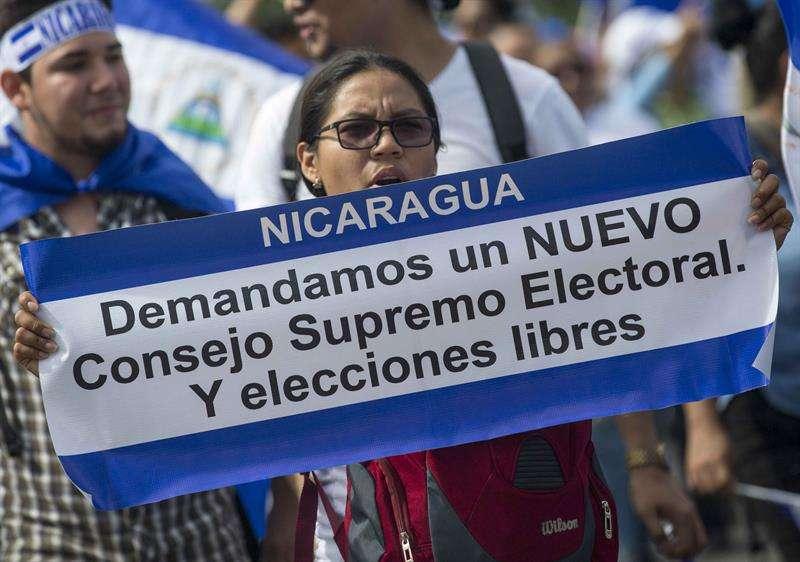 Al menos 285 personas han muerto en Nicaragua como producto de la represión, según datos de la Asociación Nicaragüense Pro Derechos Humanos (ANPDH). EFE/Archivo