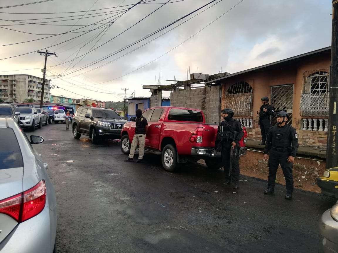 El operativo fue denominado 'Jaque mate'. Foto: @ProtegerYServir