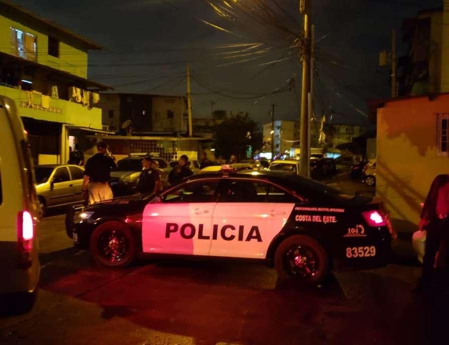 Vista general de las acciones adelantadas en horas de la madrugada de hoy en Río Abajo. Foto: @ProtegerYServir