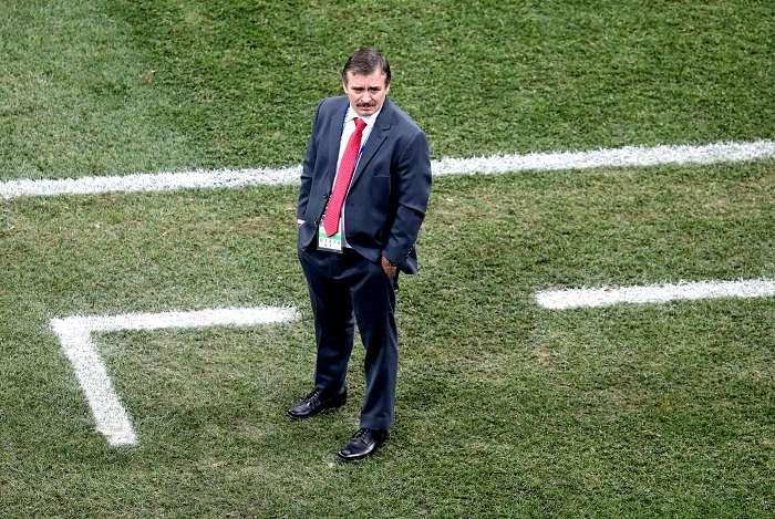 Oscar Ramirez técnico de la selección de Costa Rica./EFE