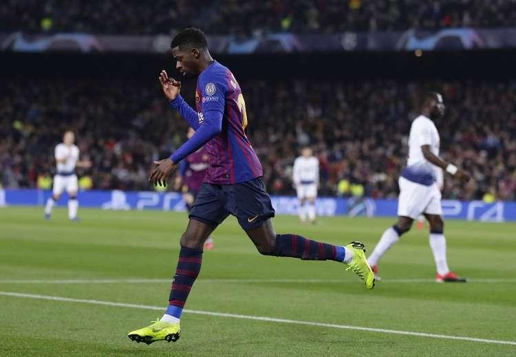 """Lo de Dembélé, el Barcelona lo considera como """"falta grave"""" su retraso de dos horas en la sesión del pasado domingo. Foto: EFE"""