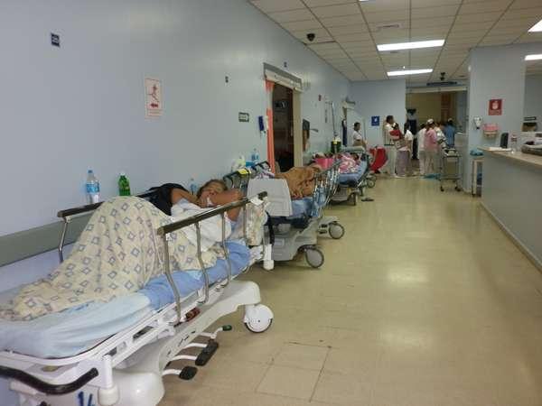 El viernes pasado, el mandatario hizo una visita a las instalaciones del cuarto de urgencia del Complejo Hospitalario Arnulfo Arias Madrid. Foto: Archivo
