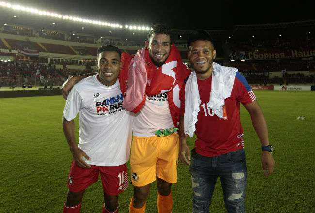 Panamá se clasificó el pasado 10 de octubre. Foto: Anayansi Gamez