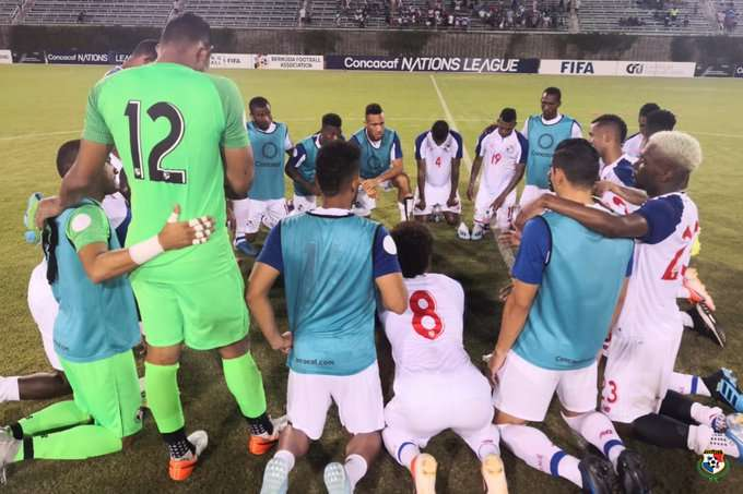 El equipo de Panamá consiguió un triunfo de 4-1 sobre Belice ayer jueves. Foto: Fepafut