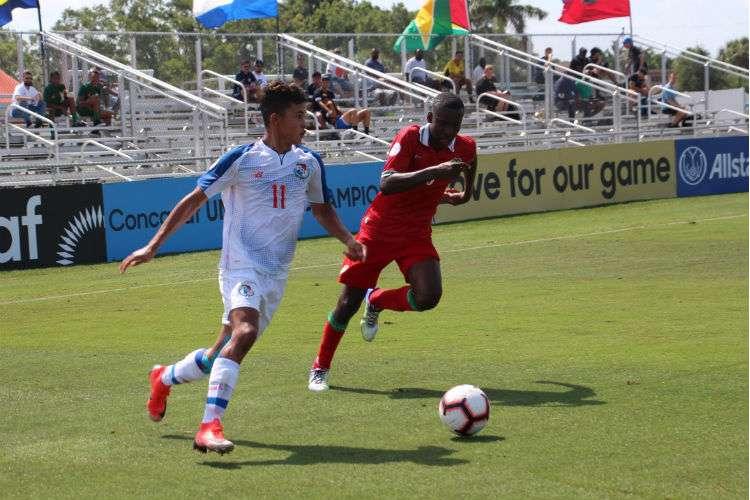 El onceno panameño suma cuatro puntos en el torneo. Foto: Fepafut