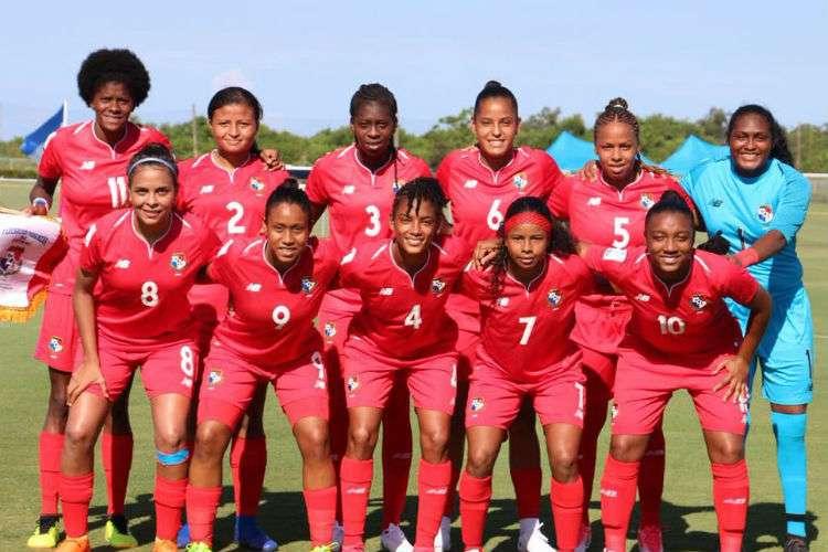 Selección Femenina de Fútbol de Panamá. Foto: Fepafut