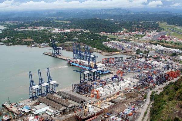 Vista general del puerto que maneja Panamá Ports Company en Colón. Foto: Archivo