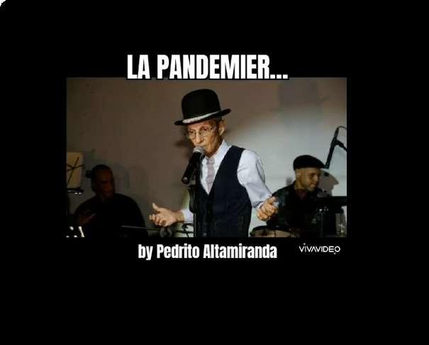 Pedrito Altamiranda le canta a la pandemia