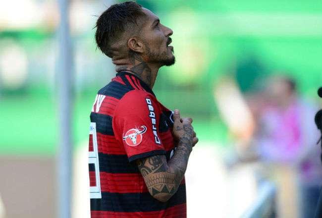 El delantero de Flamengo, el peruano Paolo Guerrero. Foto: EFE