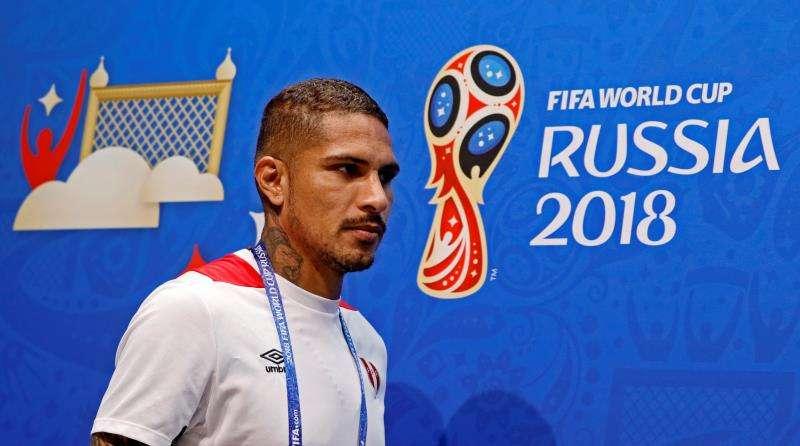 """Guerrero dijo que el próximo año tienen """"un nuevo desafío en la Copa América de Brasil"""". Foto EFE"""