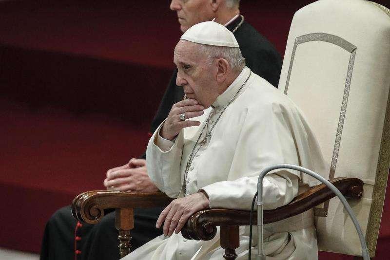 En la imagen del papa Francisco preside su tradicional audiencia general en el Vaticano. EFE/ Archivo
