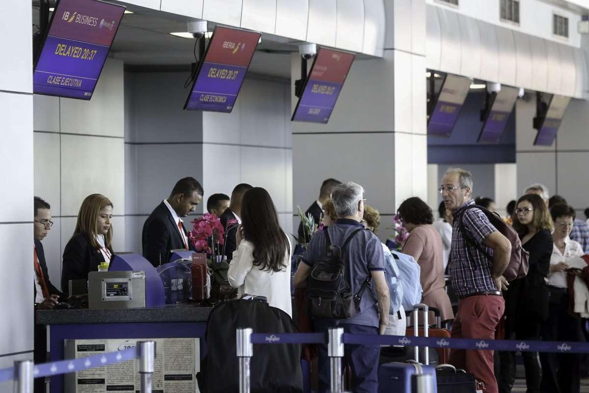 Vista general de pasajeros en el Aeropuerto Internacional de Tocumen. Foto: @tocumenaero