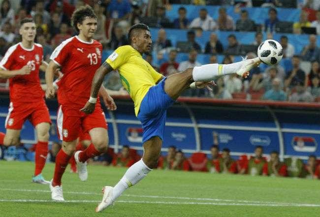 El jugador brasileño Paulinho. Foto:AP