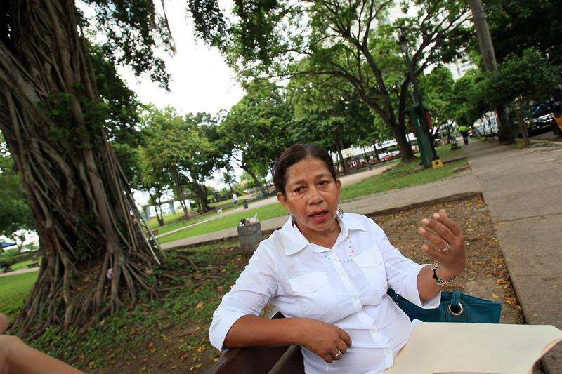 Imagen de archivo de la periodista ecuatoriana Ligia Arreaga. EFEArchivo