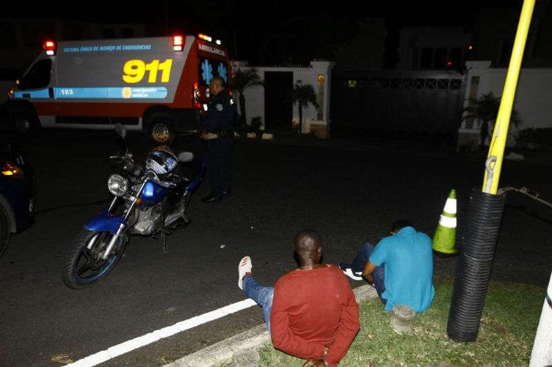 Los aprehendidos alegaron que estaban bajo los efectos del alcohol. Foto: Alexander Santamaría