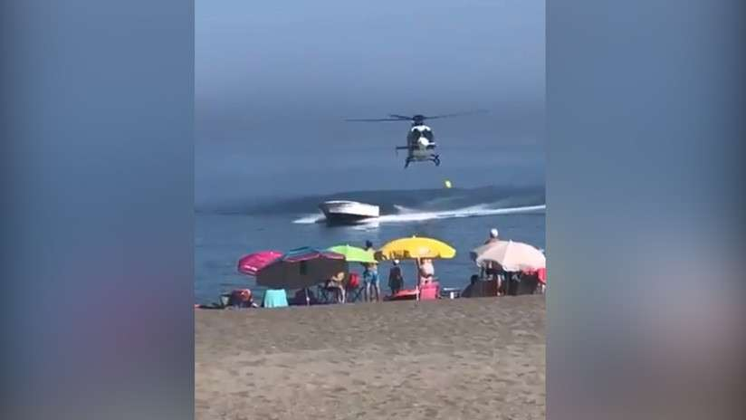 Captura de video, policía de España