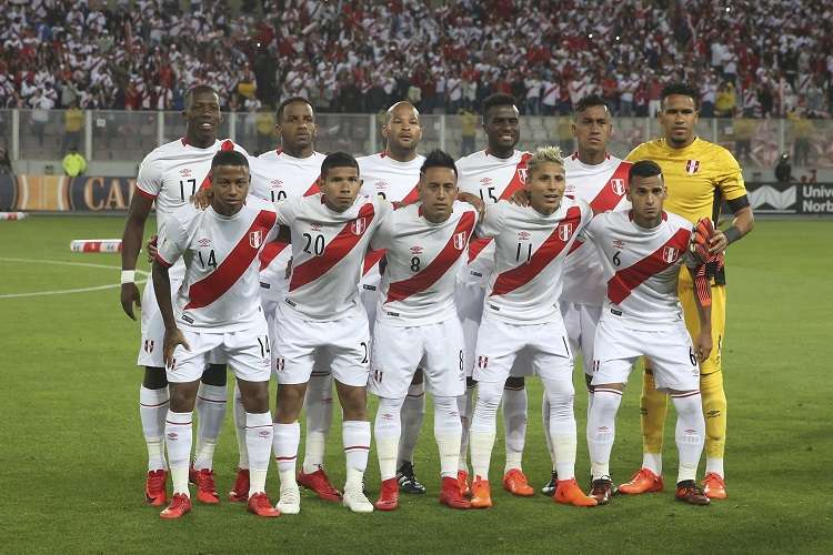 La selección de Perú está en el Mundial 2018 en el Grupo C junto a Francia, Australia y Dinamarca. Foto AP