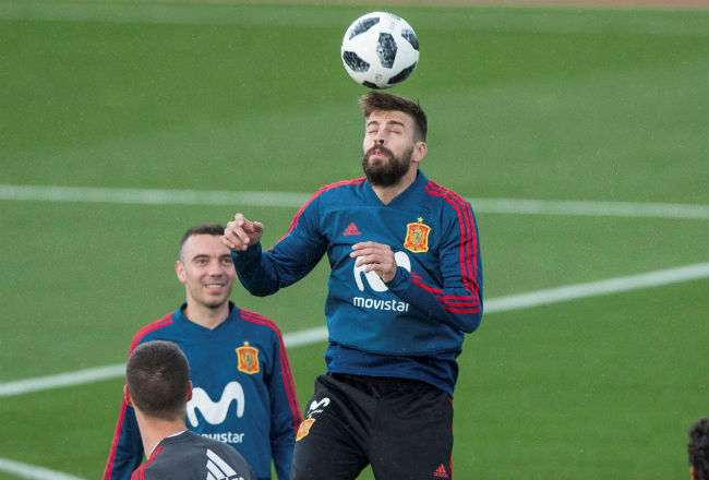 El defensa de la selección española, Gerard Piqué. Foto: EFE