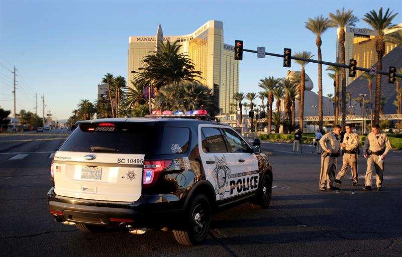 El vídeo es el primero de varios clips publicados por la Policía Metropolitana de Las Vegas, Nevada, luego de que una corte ordenara su divulgación. EFE / Archivo