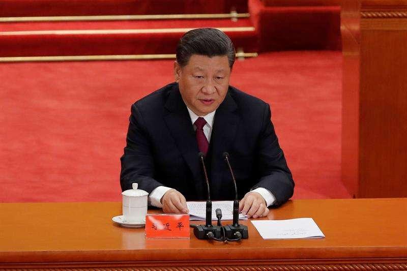 Fotografía de archivo (30042019), del presidente chino, Xi Jinping. EFE
