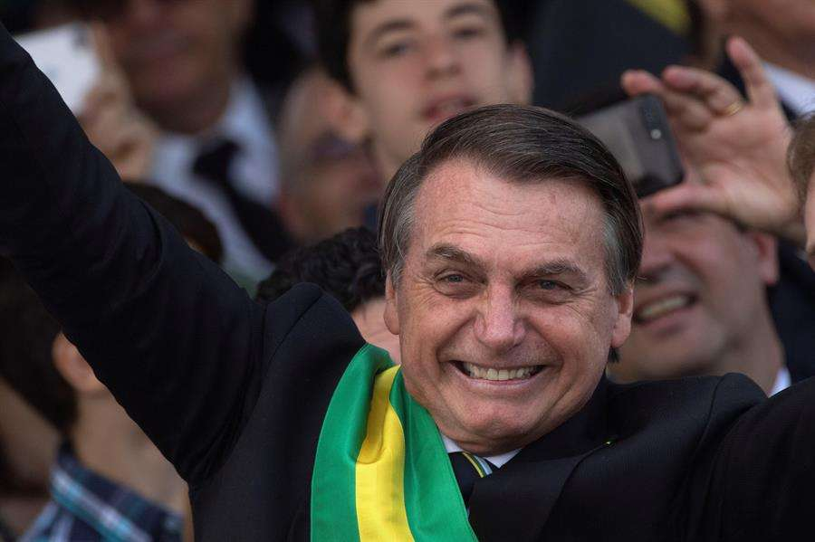 n la imagen, el presidente de Brasil, Jair Bolsonaro. EFE