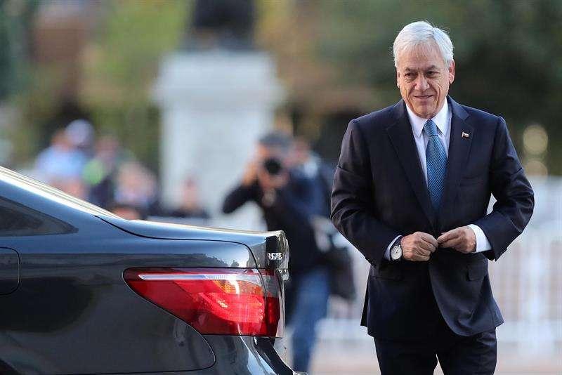 En la imagen un registro del presidente de Chile, Sebastián Piñera. EFE Archivo