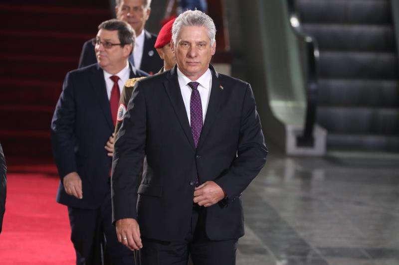En la imagen, el presidente de Cuba, Miguel Díaz-Canel. EFEArchivo