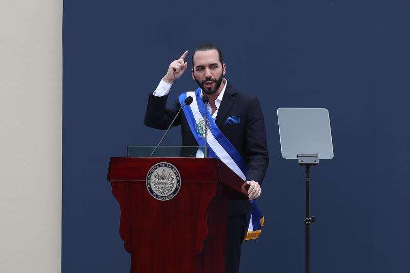 El nuevo presidente de El Salvador, Nayib Bukele. EFEArchivo