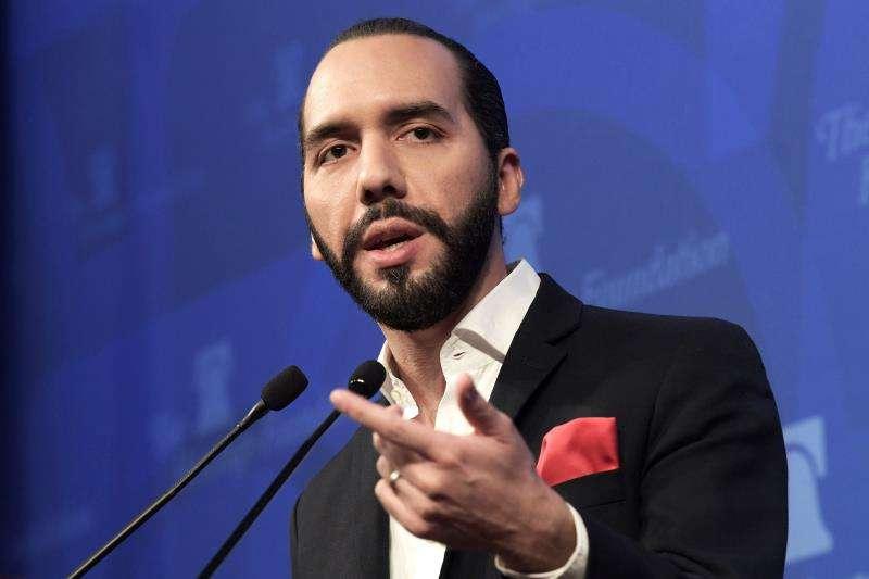 En la imagen el presidente de El Salvador, Nayib Bukele. EFE-Archivo