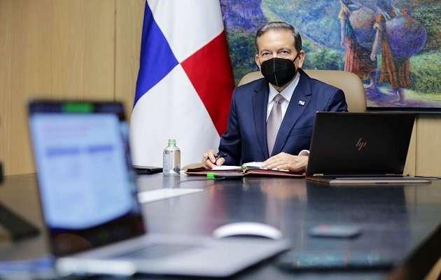 Presidente de la República, Laurentino Cortizo.